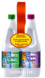 Duopack Campa Green и Campa Rinse Plus 1,5 л